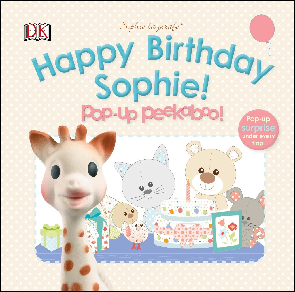 Sophie Giraffe Happy Birthday Book