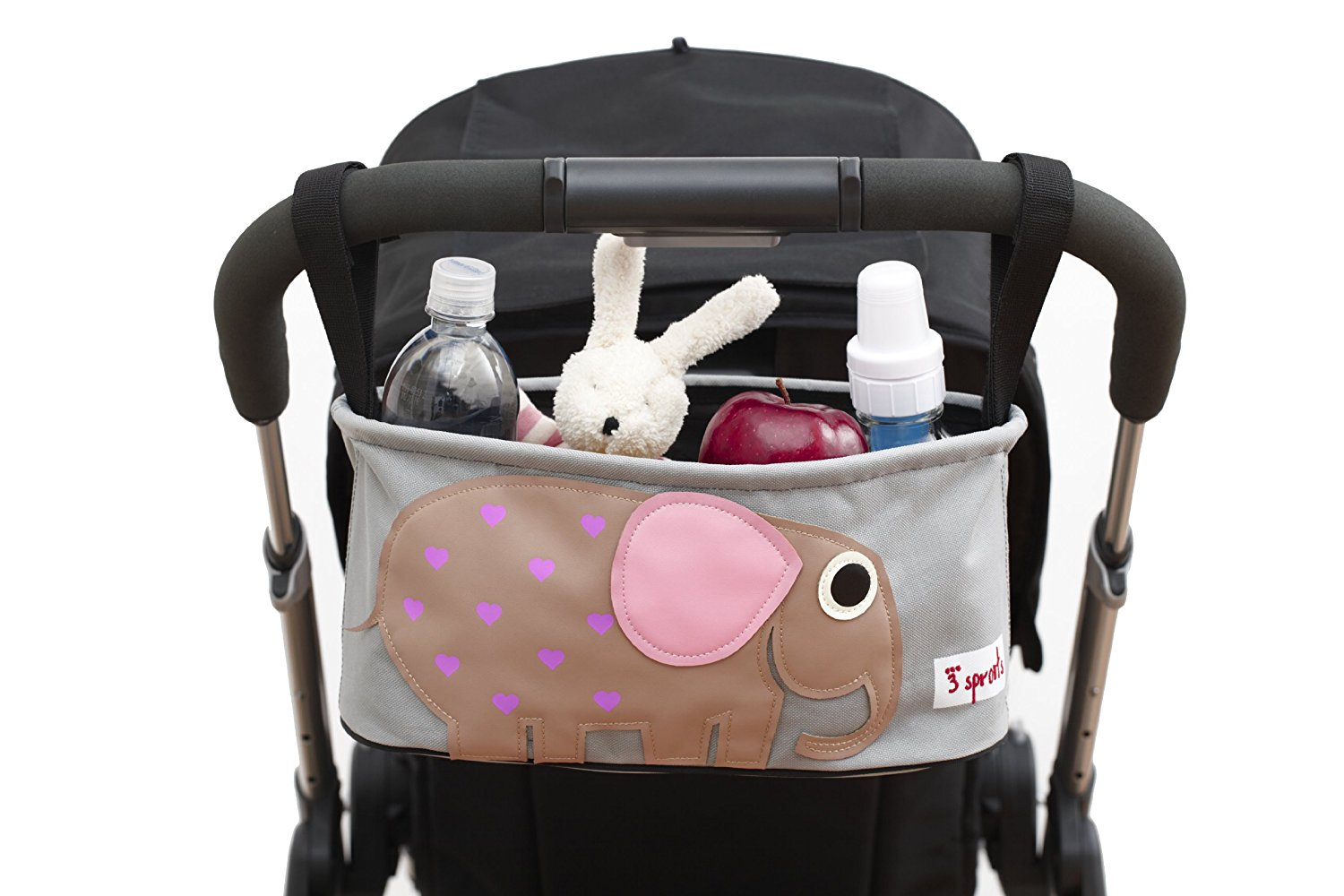 3 Sprouts Pushchair Organiser- Elephant