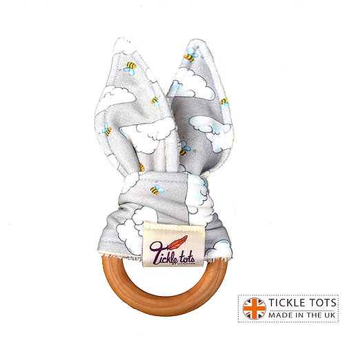 Tickle Tots Teether- Busy Bees