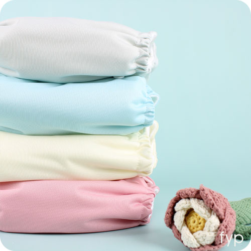 Little Lamb One Size Nappy - NEW Colour Palette 4 Pack