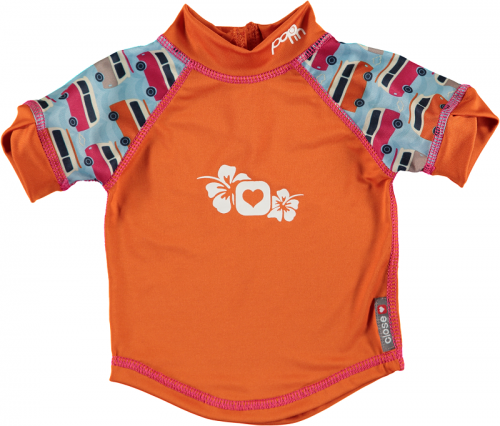Pop In Rash Vest - Campervan Blue