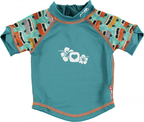 Pop In Rash Vest - Campervan Green