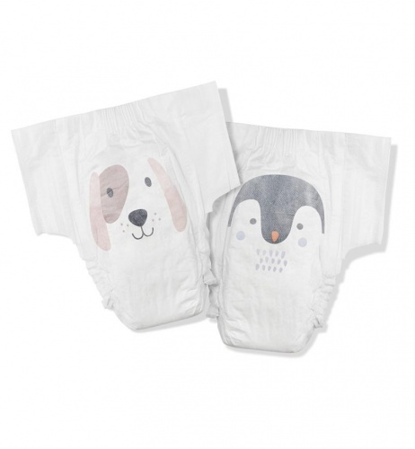 Kit & Kin Nappies Eco Disposable Nappies - Junior - Size 6