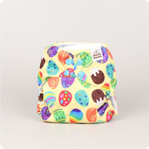 Mama Koala One-Size Pocket Nappy - Celebration Eggs
