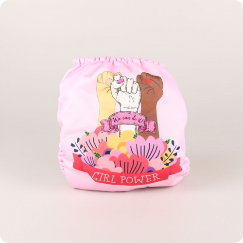 Mama Koala One-Size Pocket Nappy - Girl Power