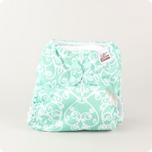 Mama Koala One-Size Pocket Nappy - Lace