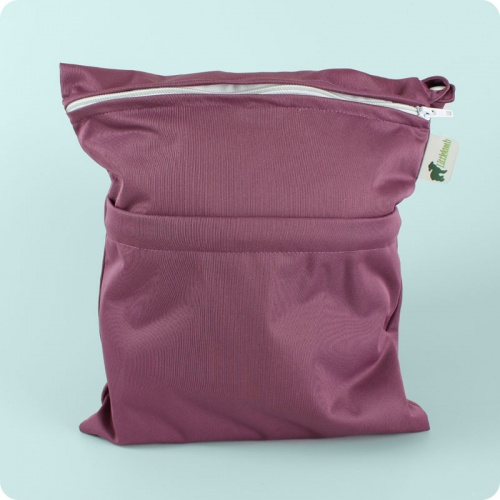 Little Lamb Double Wet Nappy Bag - Medium