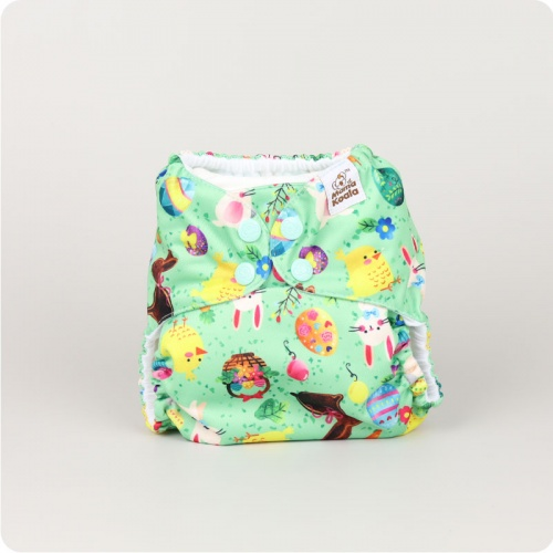 Mama Koala One-Size Pocket Nappy - Easter Bunny