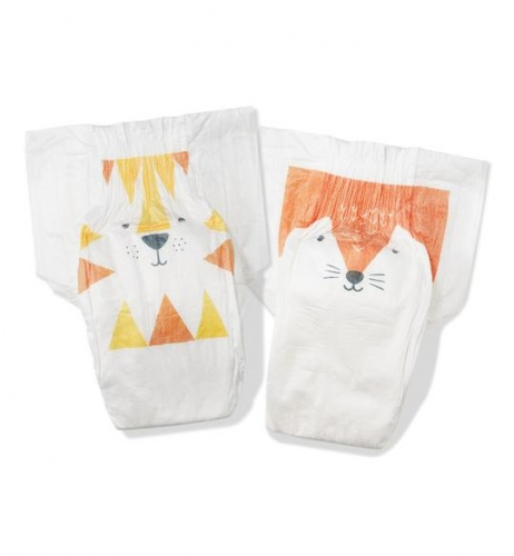 Kit & Kin Nappies Eco Disposable Nappies - Maxi Plus - Size 4